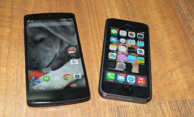 Large File Transfer between Android and iPhone