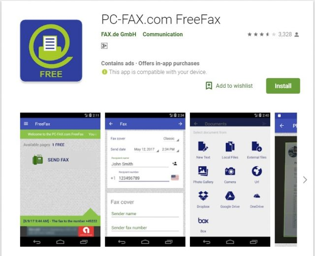 top 10 mobile apps to send fax for free internet techies